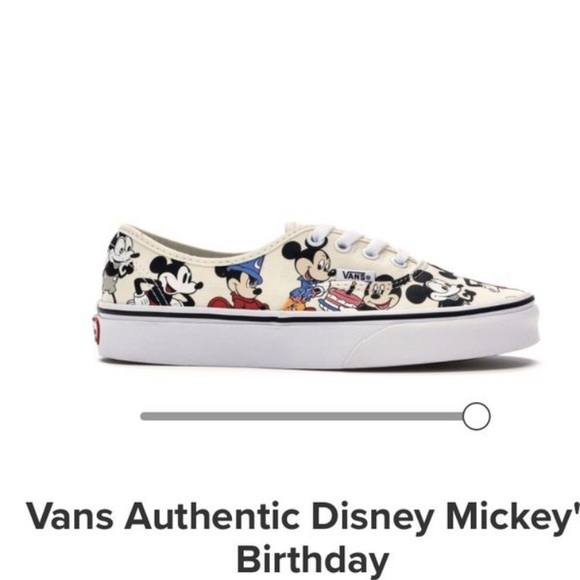 dabab804e8 Mickey Mouse Vans